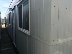 skid shack trailer office 12x60 building MDS-651539