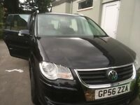 VW Touran 2006 great car with dodgy body work hence low price
