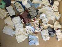 Baby clothes 0-3 months (boys)