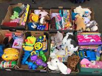 Joblot of kid's stuffs / toys/ games / bags