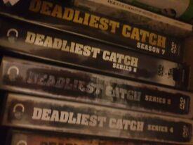 DEADLIEST CATCH DVDS SEASONS 1-7
