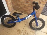Ridgeback scoot balance bike - blue