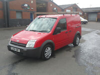 56 REG FORD TRANSIT CONNECT ONE OWNER FULL YEAR M.O.T £1950 NO V.A.T ////