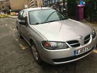 NISSAN ALMERA 1.5 S PETROL MANUAL VERY LOW MILEAGE!! ONLY ##890