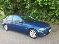 2003 BMW 318I COMPACT FULL YEARS MOT 1 OWNER FROM NEW