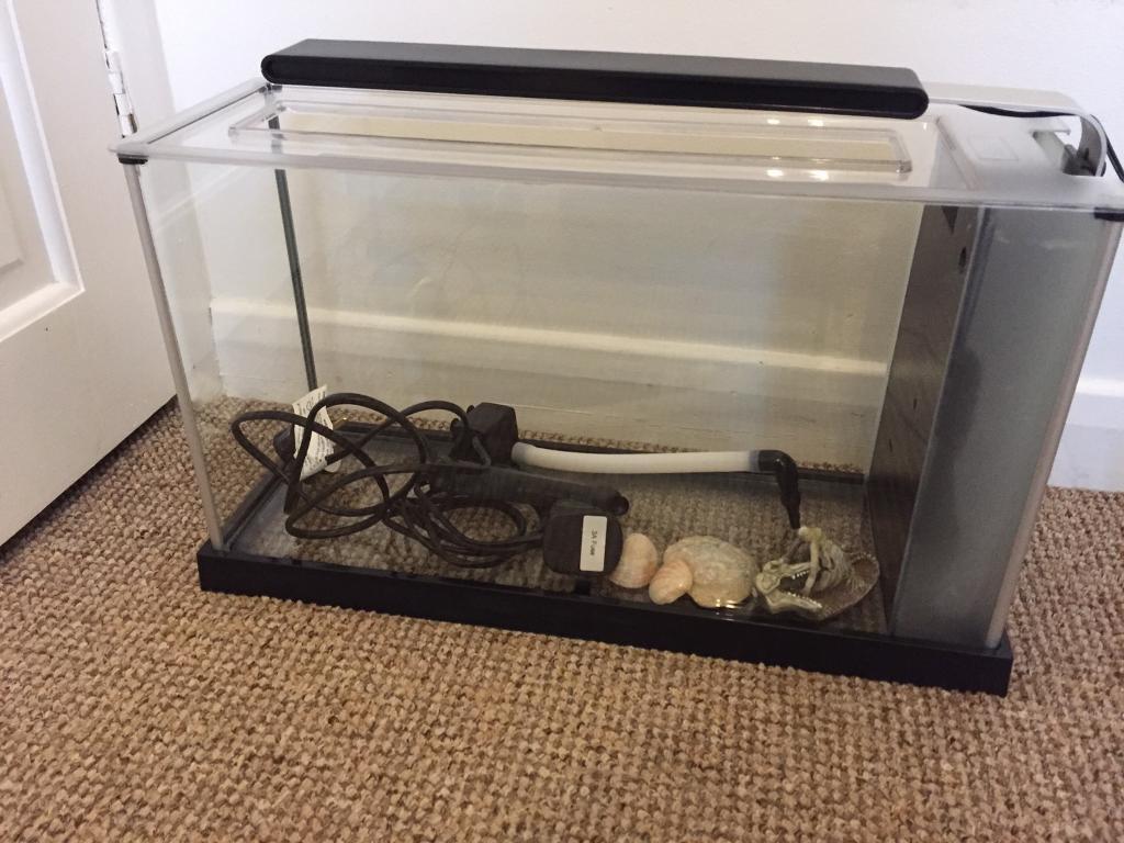 Fluval spec 19l aquarium/ fish tank