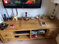 Solid oak furniture various