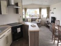 STATIC CARAVAN FOR SALE, SITED BY CLITHEROE IN LANCASHIRE. DECKING INCLUDED!!