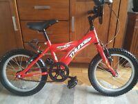 Dawes 16inch child's bike (and stabilisers )