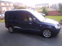 2008 Vauxhall Combo 2000 1.7 CDTI Crew cab, Full MOT, Very good condition