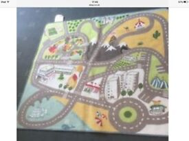 Rug - Car / road rug which could be used for play or decorative 135x140cm Bury St Edmunds