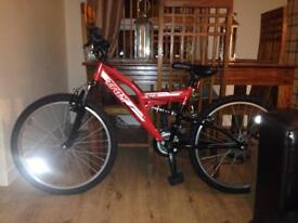 Mountain bike used only 1 time bran new £50 Ono