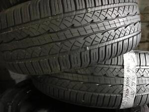2 pneus dété 205/55/16 kumho solus