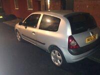 Renault Clio 1.4 diesel £550 OR SWAP FOR VAN