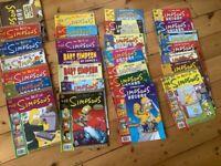 27 Simpsons comics