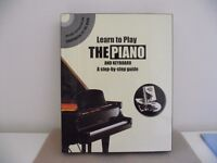 Learn to Play the Piano & Keyboard - Dvd and Book