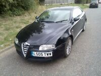 Alfa Romeo GT 1.9 JTD-Diesel Year 2005 Remaped Fully loaded £1199 or swap