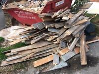 Free firewood for collection