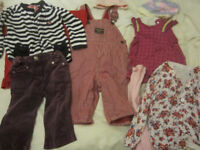 Great value bundle of baby clothes, aged 9 - 12 months