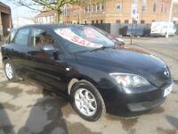 Mazda 3 TS,1598 cc 5 dr hatchback,3 keepers,2 keys,full MOT,nice clean tidy car,runs and drives well