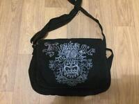 New look black shoulder bag