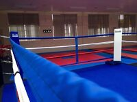 15ft boxing ring. Excellent condition. Only used a few times