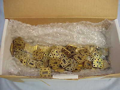 Lot Of 288 New Wr51 Flange Waveguides 15 To 22 Ghz 0.15 Thick