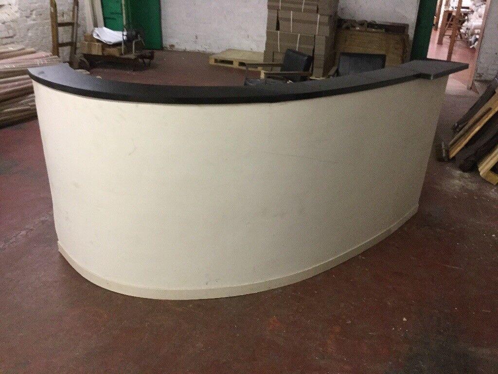 Granite Top Reception Desk