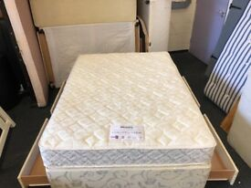 Very Clean Myers 4ft 6 Divan storage bed