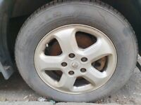 RENAULT TRAFFIC SPORT 16 INCH ALLOYS AND TYRES
