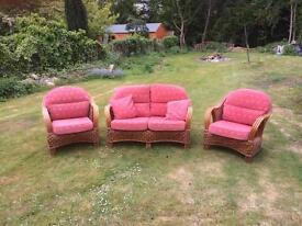 Garden conservatory furniture set