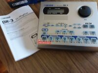 Brand New, never used in box Boss Dr Rhythm DR3 Drum machine