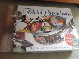 Disney Edition of DVD Trivial Pursuit.