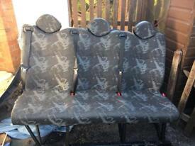 LDV Maxus centre row seats