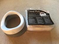 Brand new travel potty by Tippitoes