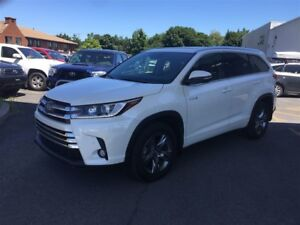 2018 Toyota Highlander Hybrid Limited **DEMO**