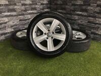 "16"" Genuine VW Dover Alloy Wheels Golf Caddy Passat 5x112 MK7 MK6 MK5 ALLOYS GT TDI GTD"