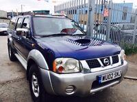 NISSAN NAVARA 2.5 DIESEL MANUAL 4WD 2002 DRIVE NICE TD 1 OWNER DOUBLE CAB