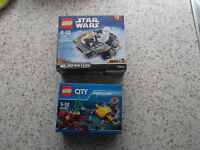 2 LEGO SETS *BRAND NEW* Star Wars and Submarine.
