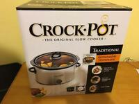 Crockpot in original packaging