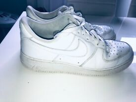 Nike Air Force 1 size 9.5 trainers Airdrie £12