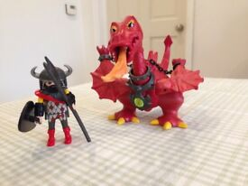 Playmobil Red Dragon Set 3327