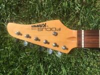 Loaded Kramer Focus 111s vintage guitar neck