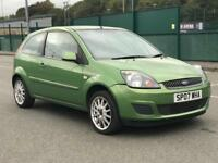 2007 FORD FIESTA 1.2 * 3 DOOR *NEW MOT *IDEAL FIRST CAR *BARGAIN* *PX* *DELIVERY AVAILABLE*