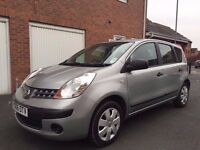 NISSAN NOTE SPARES OR REPAIRS NEEDS TIMING CHAIN STARTS AND DRIVES 55,000 MILES 1.4 PETROL HPI CLEAR