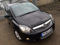 Vauxhall zafira 2012, 1.7 diesel manual, SAT NAV, HEATED SEATS, FULL S/H, ONLY 30k miles