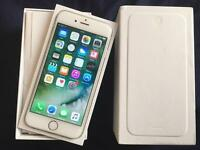 iPhone 6 02 / Giffgaff 64GB Silver Excellent condition