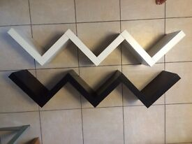 Ikea Zigzag Shelf - Black