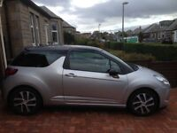 Citroed DS3 1.6HDi Silver with black roof