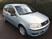 FIAT PUNTO 1.2 ** 04 PLATE ** ONLY 27,000 MANUEL ** SERVICE HISTORY ** LOW MILES **